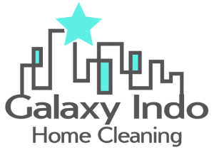 logo galaxyindo home cleaning